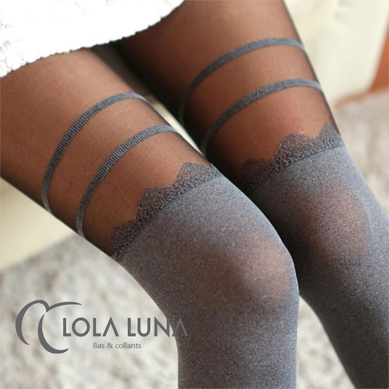 collants faux bas lola luna collants faux bas micro string et mini string lingerie ouverte. Black Bedroom Furniture Sets. Home Design Ideas